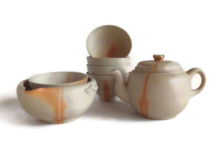 Bizen Hidasuki set na čaj moderní