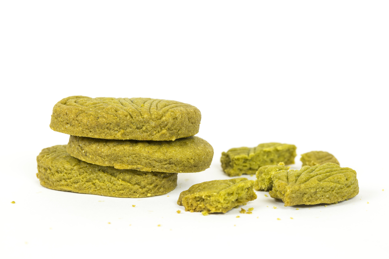 Matcha máslové sušenky