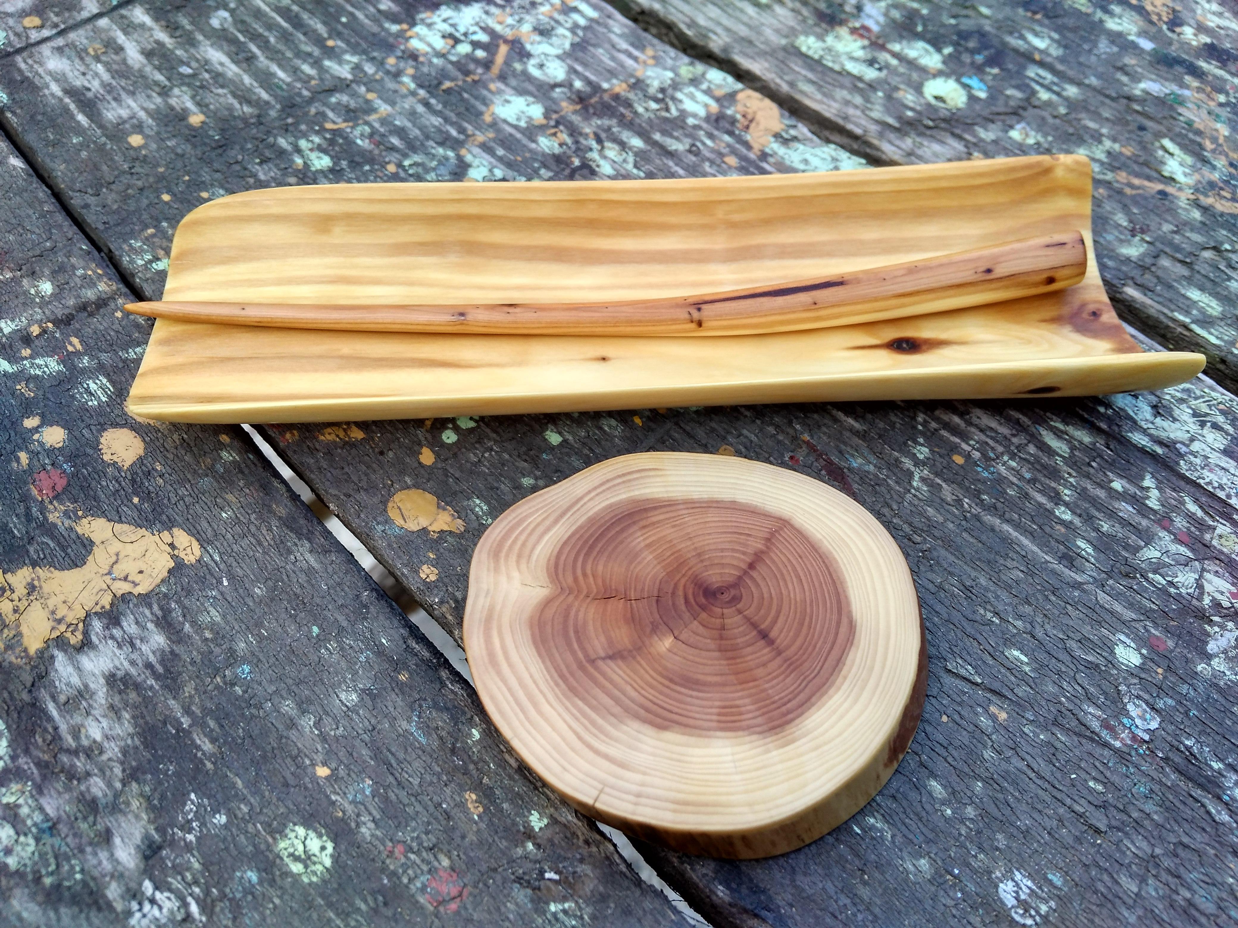 Čajová lžička dřevěná